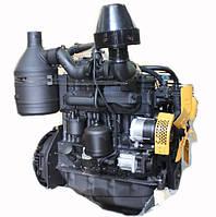 Двигатель МТЗ-1025 (105 л.с.) (77 кВт) (полнокомплектный) (с ФЦОМ) (2-х диск. сцепление) (пр-во ММЗ) Д245-06Д