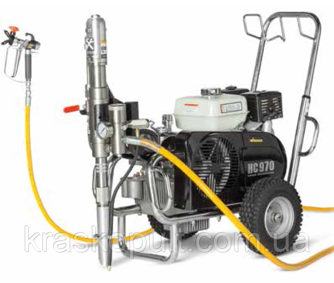 Фарбувально-шпаклювальних агрегат Wagner HeavyCoat 970 G (бензиновий)