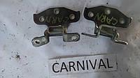 Навесы двери передние правые Carnival