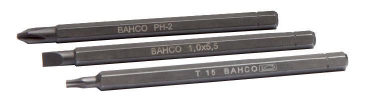 Бита T27, 1/4, TORX, Bahco, 8927L-2P,  под битодержатель BE-8575 , фото 2