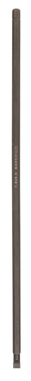 Біта шліц, 1/4, 400 мм, 8,0 мм, Bahco, 8256XL-1P, BE-8575