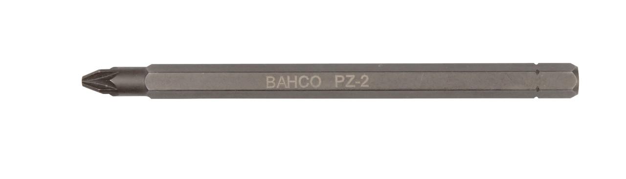 """Бита Pz2  1/4 """", Pozidriv, 100мм, Bahco, 8820-2P, под битодержатель BE-8575"""