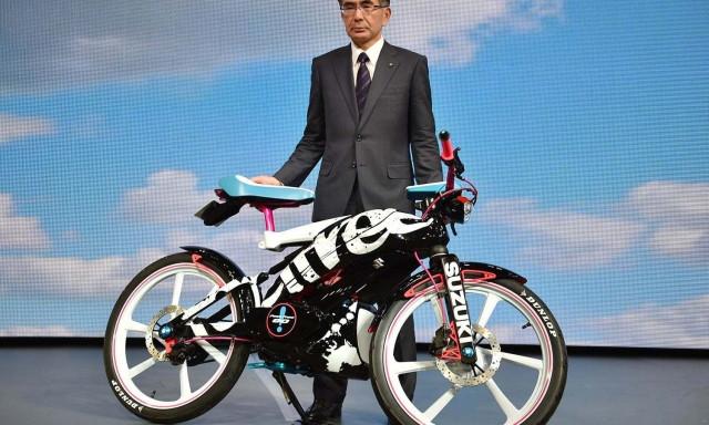 Новый взгляд на велосипеды - Suzuki feel free Go!