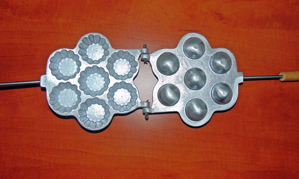 Форма для выпечки корзинок на 7 штук