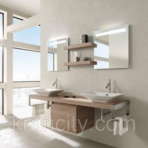 Зеркало в ванную комнату Jacob Delafon Parallel 80 EB1413-NF с подсветкой и функцией анти пар ,Франция