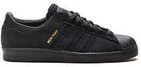 Кроссовки Adidas Superstar Black New York