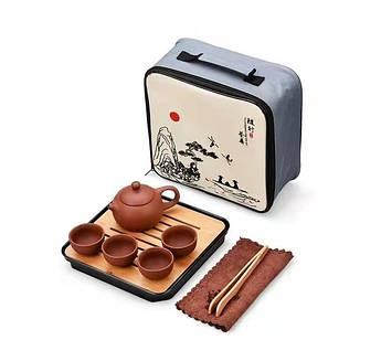 Чайний набір для чайної церемонії дорожній, портативний