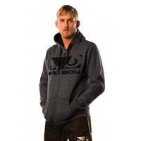 Мужская флисовая спортивная кофта BAD BOY FLEECE dark grey