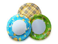 Бумажные тарелки от ООО «ТПК Мелис»
