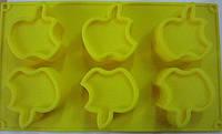 """Форма силиконовая для выпечки """"Apple"""" (код 01920)"""