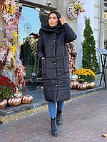 """Куртка-пальто женское, зима, размеры 42-48 (3цв) """"LINDA"""" недорого от прямого поставщика"""