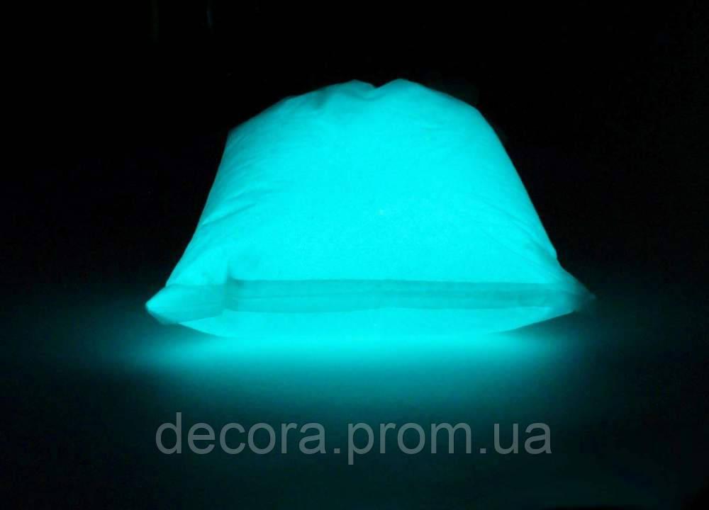 Люминофорный светящийся в темноте порошок, светонакопительная краска