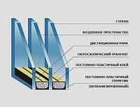 Замена двухкамерного стеклопакета,стеклопакеты цена