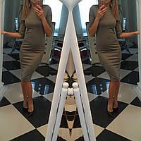 Классическое платье , рукав 3/4 бордо