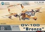 Штурмовик OV-10 D ' Bronco '   1\32     KITTY HAWK