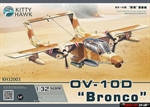 Штурмовик OV-10 D ' Bronco '   1\32     KITTY HAWK