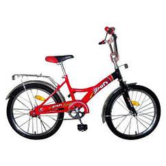 Детский двухколесный велосипед 20 дюймов Profi P2036A Original New красный