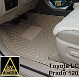 Килимки Lexus GX 460 2014 з Екошкіри 3D (URJ150 / 2009-2018) Тюнінг Лексус ГХ 460, фото 6