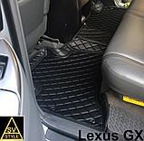 Килимки Lexus GX-470 2002-2009 Шкіряні 3D (UZJ120) Тюнінг Лексус ГХ 470, фото 7