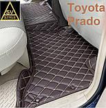 Килимки Lexus GX-470 2002-2009 Шкіряні 3D (UZJ120) Тюнінг Лексус ГХ 470, фото 9