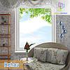 "Одностворчатое глухое окно Rehau 60, 70 цена в ""Окна Маркет"""