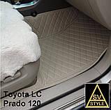 Килимки на Lexus RX Шкіряні 3D (XU30 2003-2009) Нові Оригінальні Лексус РХ 350, фото 10