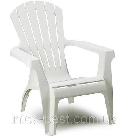 Пластиковое кресло Dolomiti белое, фото 2