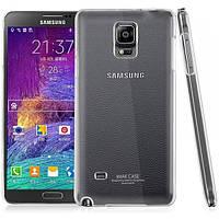 Чехол накладка пластик IMAK для Samsung Galaxy Note 4 N910 прозрачный