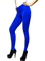 Лосины микрофибра 480 den, цвет синий электрик, материал плотный - микрофибра. Цвет синий эллектрик
