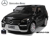ЛИЦЕНЗИОННЫЙ Детский электромобиль джип Mercedes-Benz ML 63 AMG EBRS-2 черный