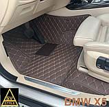 Оригінальні Килимки BMW X5 Е70 Шкіряні 3D (2006-2013) Тюнінг БМВ Х5 Е70, фото 2