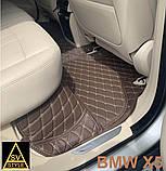 Оригінальні Килимки BMW X5 Е70 Шкіряні 3D (2006-2013) Тюнінг БМВ Х5 Е70, фото 8