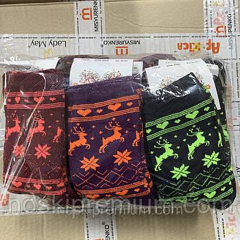 Носки женские махровые хлопок Ekmen, 23-25 размер, ассорти, 01230
