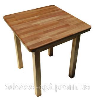 Стол деревянный квадрат