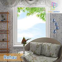 """Цена одностворчатого глухого окна Rehau 70 800x1400 """"Окна Маркет"""""""