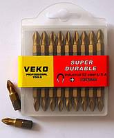 Бита для шуруповёрта VEKO PH2*25MM TITANIUM (20 шт. в упаковке)