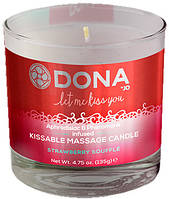 Свеча для массажа и поцелуев  Dona by JO - DONA KISSABLE MASSAGE CANDLE STRAWBERRY (T251389)