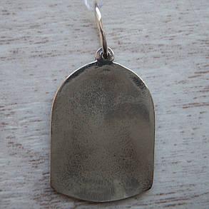 Серебряная подвеска-ладанка Икона Божией Матери Семистрельная, фото 2