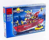 """Конструктор """"Пожарно-спасательный катер"""" 361 деталь Brick- 909"""