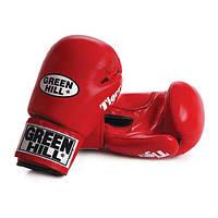 "Перчатки боксерские ""Tiger"" Green Hill кожа 10 oz"