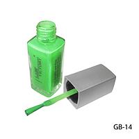 Клей-краска для тела с кисточкой. GB-14