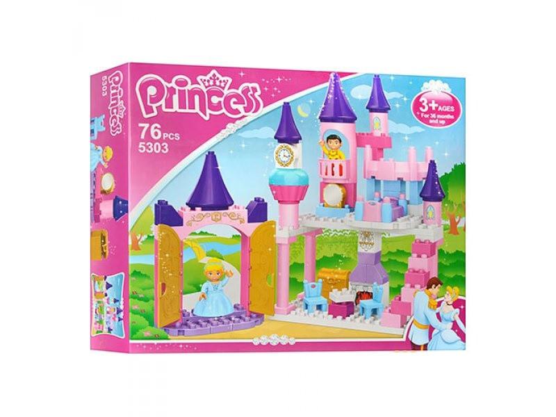 Конструктор JDLT 5303 Замок принцессы, 76 деталей