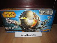 Трек Хот Вилс Звёздные войны Звезда смерти Hot Wheels Star Wars Death Star Battle Blast Track, фото 1