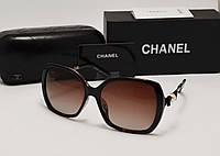 Женские солнцезащитные очки Chanel 15011 коричневый цвет, фото 1