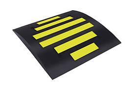 Лежачий полицейский основной элемент (ш.650, д.500, в.50 мм)