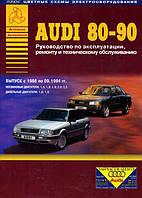 Audi 80 / 90 (b3) Инструкция по эксплуатации, обслуживанию и ремонту