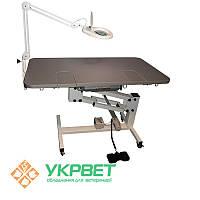 Стол ветеринарный USI на электрическом подъёмнике