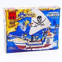 """Конструктор """"Пиратский корабль"""" 188 деталей Brick-304"""