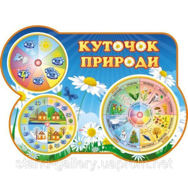 """Уголок природы для детского сада """"Ромашка"""""""