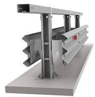 Ограждение мостовое металлические барьерного типа 11МД  Мостовое двустороннее барьерное ограждение